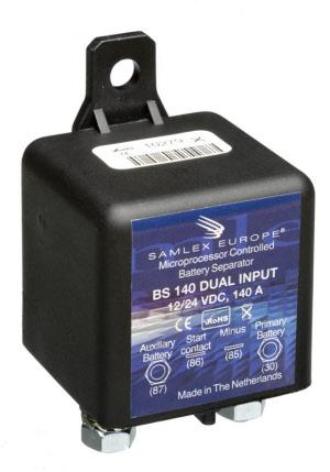 m-use electronics 33000201 Accu Scheidingsrelais 12V/24v
